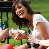 Fun Hen party wine tasting