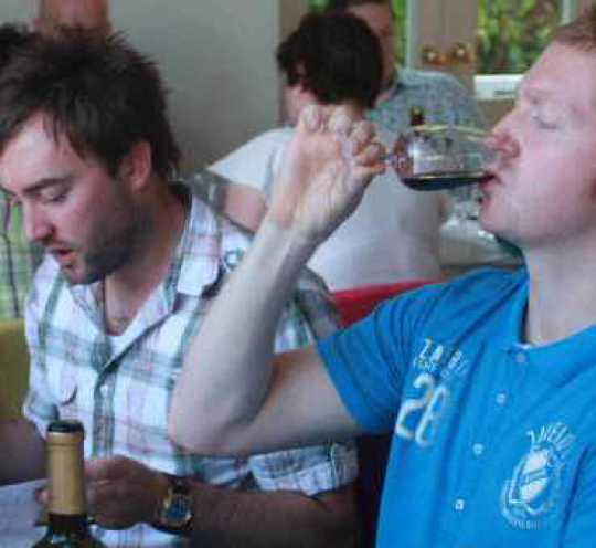 Stag Party Wine TAsting